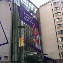 Advertising Banners Rope Access
