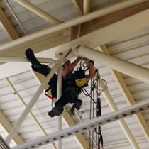Steel Structures Rope Access